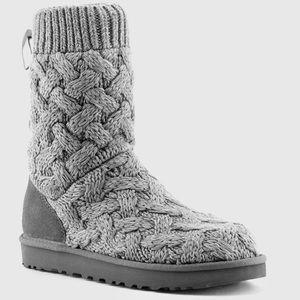 🦃NIB🦃 UGG Isla heather grey boots ~ 10